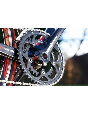 You don't often see Campagnolo equipment on lower priced bikes, but it works well if you fancy an alternative