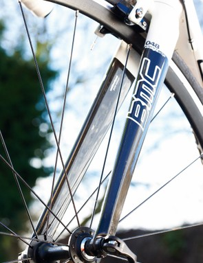 Steering is sharp, but the semi- rather than full-carbon fork makes it one of the heaviest on test