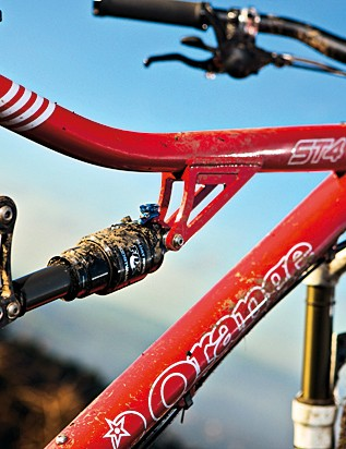 Conventional – not tapered – head tube