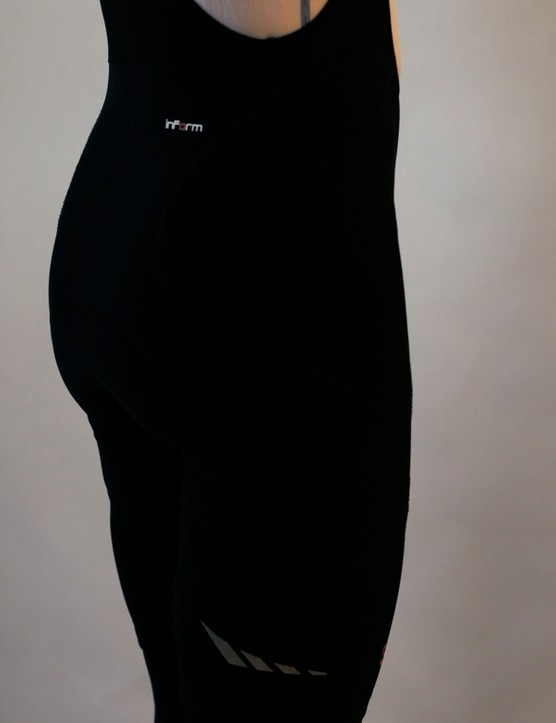 The rear of the shorts feature reflective accents