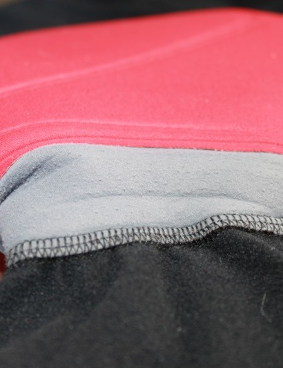 Bontrager's 2-piece pad is flat stitched into the shorts