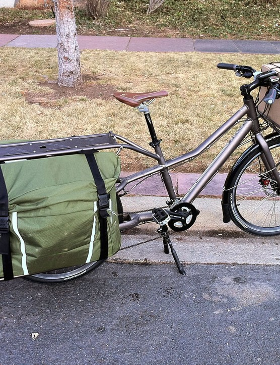 Our Trek Transport+ test bike has seen lots of duty since it first arrived in early January