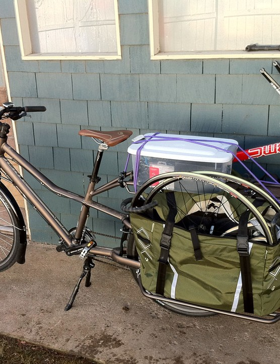 Just because items don't actually fit inside the panniers doesn't mean they don't fit