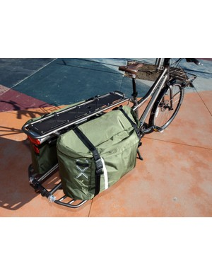 Trek includes just one of these giant panniers with each Transport+ but it's a wise move to get another one, if only to help balance the load