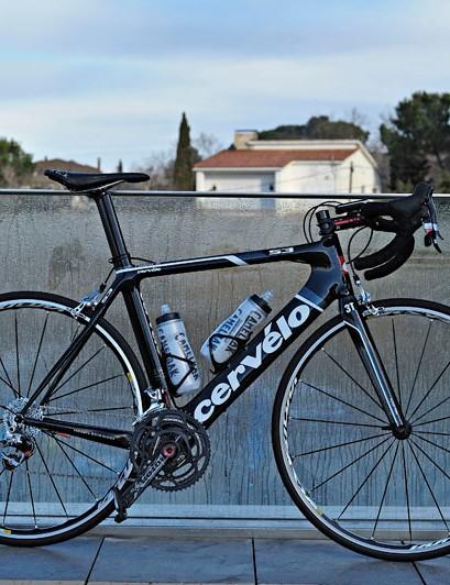 Garmin-Cervélo sprinter Tyler Farrar has made the move to an aero road bike with his new Cervélo S3.