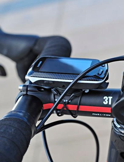 3T provides its ARX-Team stem to the Garmin-Cervélo team.