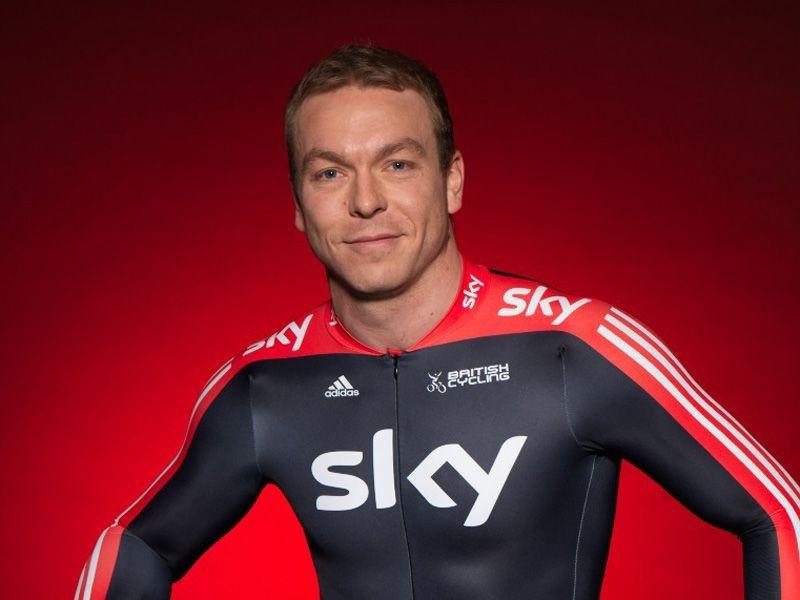 Sir Chris Hoy models the new Sky Kit