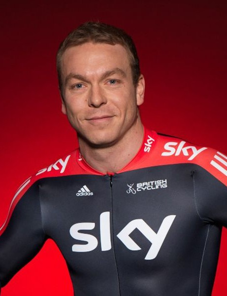 Sir Chris Hoy models the new Sky Kit