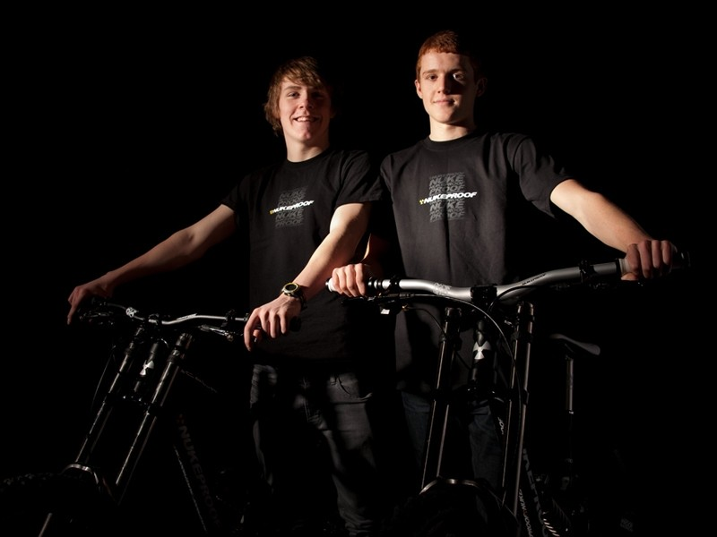 Christopher and McGlinchey and Dan Sheridan will be riding under the Nukeproof banner this season