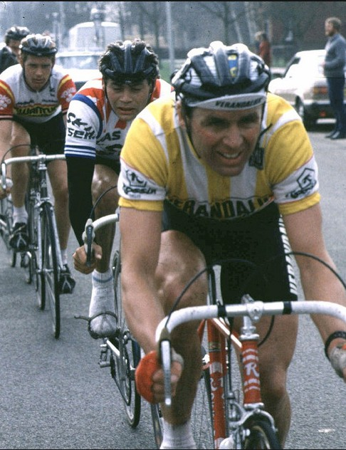 Hennie Kuiper rode Rossins to many victories, including the 1985 Milan-San Remo