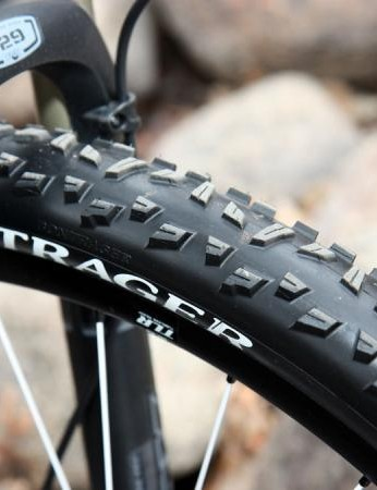 Our test bike came preassembled by Subaru-Trek team mechanic Matt Opperman, who also saw fit to swap in Bontrager's more Colorado-friendly XR3 tread in lieu of the stock 29-2s