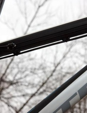Cables are cleanly routed on the underside of the top tube
