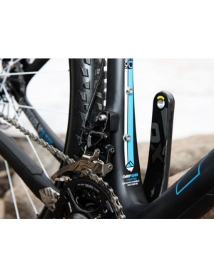 The direct-mount XO front derailleur takes almost all of the guesswork out of installation