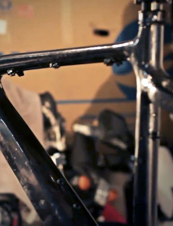 Giant are expected to officially anounce their new XtC Composite 29er carbon hardtail later this season