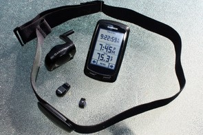 Garmin will offer the Edge 800 as a standalone unit or in various bundled packages. This US option includes a City Navigator microSD card, a wireless speed and cadence sensor, and the company's new premium heart-rate monitor strap