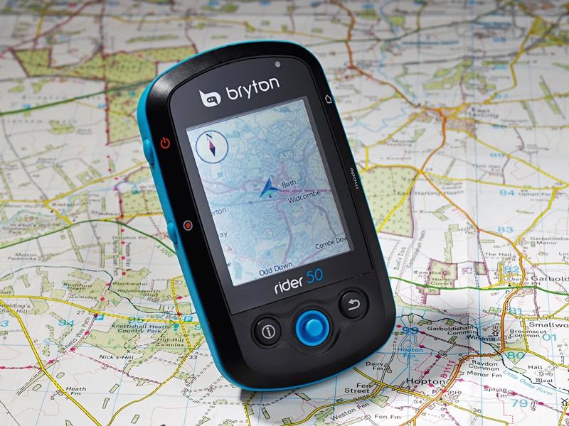 Bryton Rider 50 GPS unit