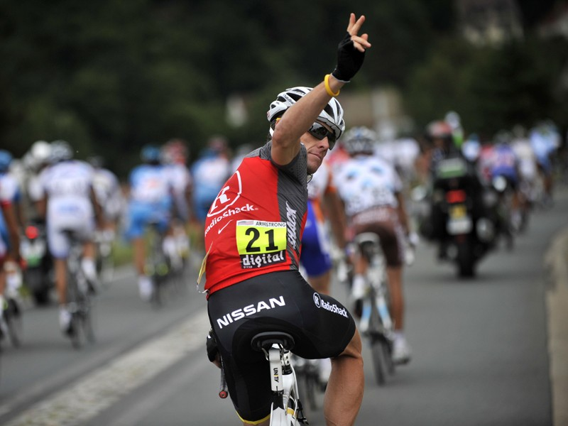 Lance Armstrong has retired from professional cycling for the final time, he says