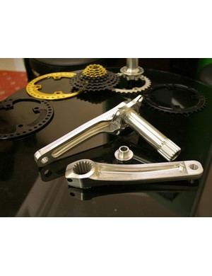 Hope have unveiled a prototype crankset and cassette. With chainrings already on sale, is a full transmission in the pipeline?