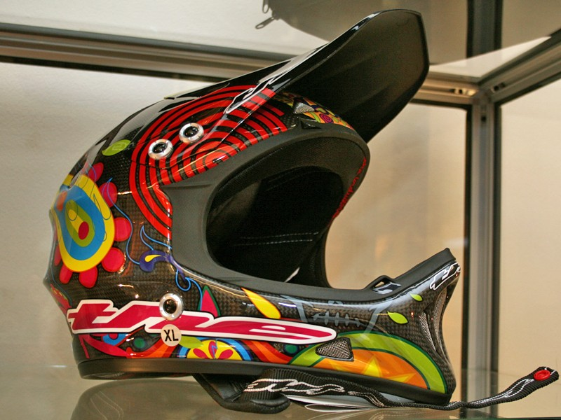THE T2 Carbon Day of the Dead helmet