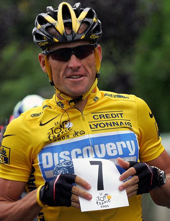 Seven times a Tour de France winner