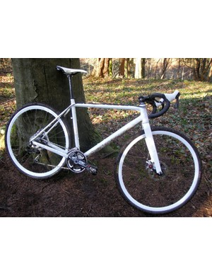 Whyte let us take this prototype cyclo-cross bike for a spin