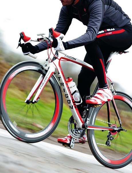 The riding performance bears comparison with pro-issue bikes costing twice as much