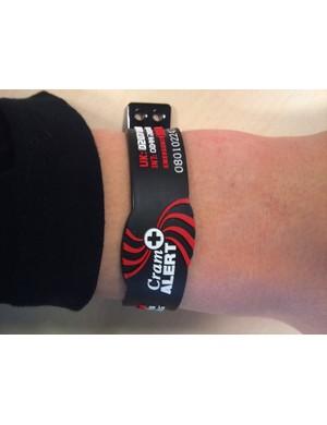 Cram Alert wristband
