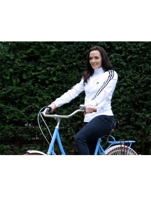 Victoria Pendleton swapped Track World Cup competition in Manchester at the weekend for endorsement of the new Cycletta series in London yesterday