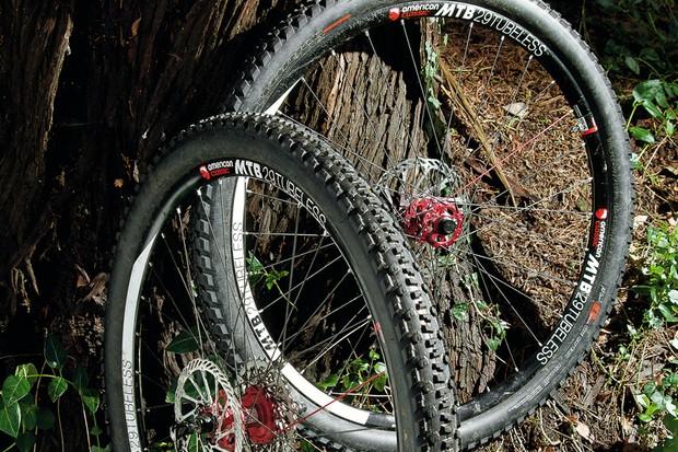 "American Classic MTB 29"" Tubeless wheelset"