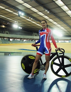 Victoria Pendleton hopes the London velodrome will bring her more Olympic gold