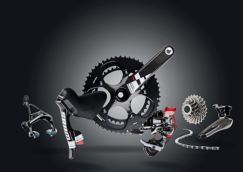 SRAM's Black RED group