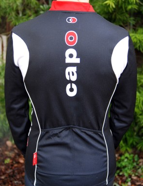 The two pockets are too small to be practical for cool weather riding