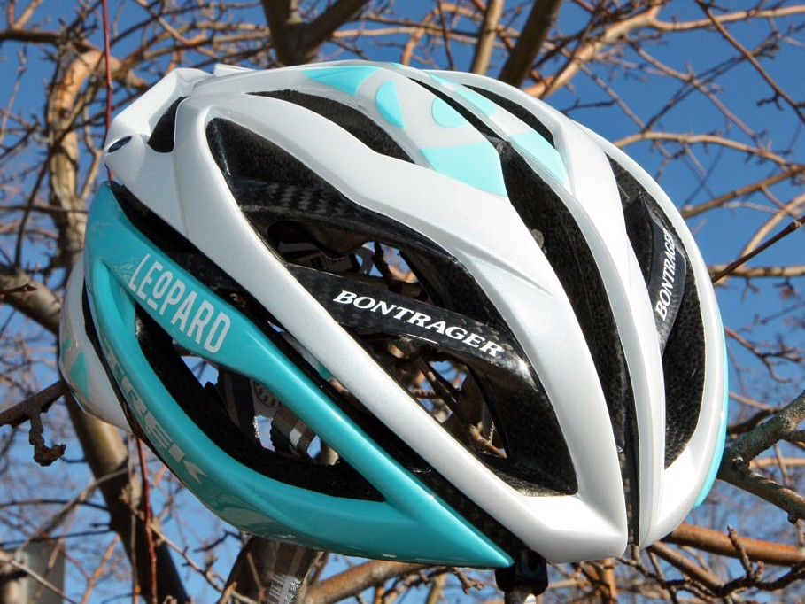 Bontrager has provided the Leopard Trek team with the all-new Oracle helmet and our first impressions are that it's a worthy lid for Pro Tour-level competition