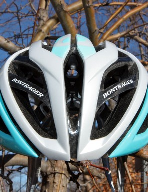Bontrager says a key to the excellent cooling performance is the big central vent up front