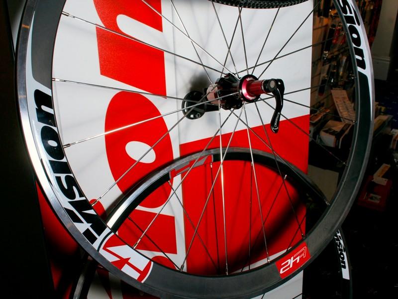 Vision T42 aero wheelset
