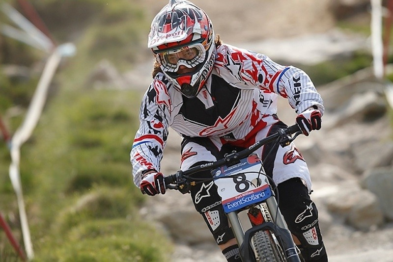World Downhill Champ Tracy Moseley