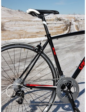 Even though it's aluminum and not carbon, Specialized closely adheres to the