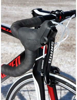SRAM's Apex levers are functionally identical to Rival and Force but are heavier thanks to alloy levers