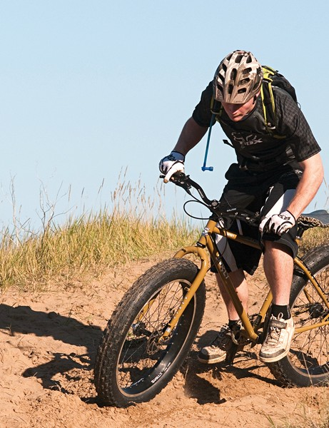 The Pugsley picks up where other mountain bikes get stuck