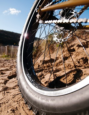 High volume, low pressure tyres for floating past your mates on the very worst terrain