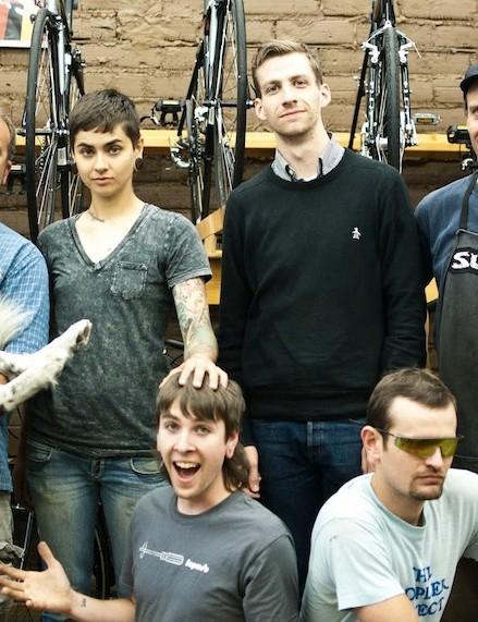 The 21st Avenue Bicycles crew