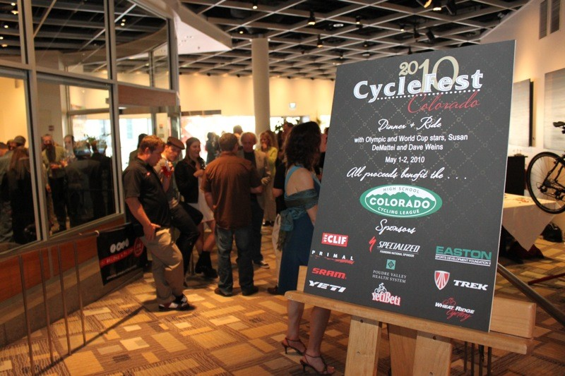 Last year's CycleFest Colorado raised $25,000 for the high school league