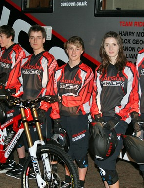 Madison Saracen will start out as a six-rider development squad but the plan is to expand it into a World Cup factory team in future years