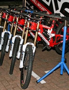 Madison Saracen team issue bikes