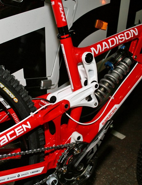 Madison Saracen team issue Myst downhill bike