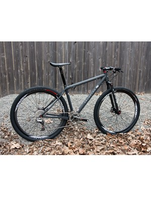Crumpton is best known for its custom carbon road bikes but is busting into the off-road scene with this striking 29