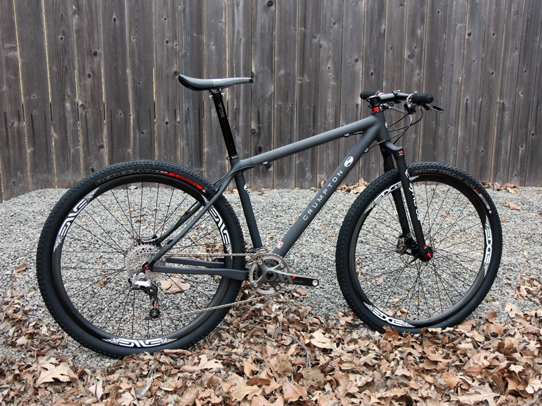 """Crumpton is best known for its custom carbon road bikes but is busting into the off-road scene with this striking 29"""" hardtail."""