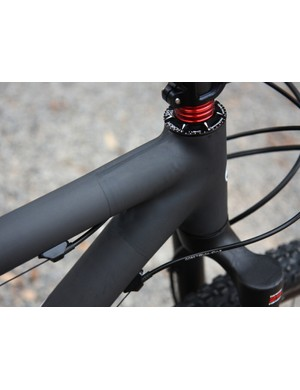 Lots of carbon builders can make light custom frames but few can match Crumpton's impeccable finish work.