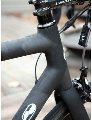 Nick Crumpton uses tube-to-tube construction for his frames but you'd hardly guess from the impeccable finish quality.