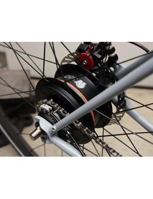 NuVinci's new infinitely variable 360 internally geared hub is notably smoother than earlier models.